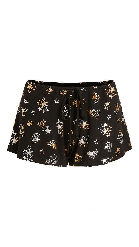 Hanky Panky Startrix Sleep Shorts in black / multi