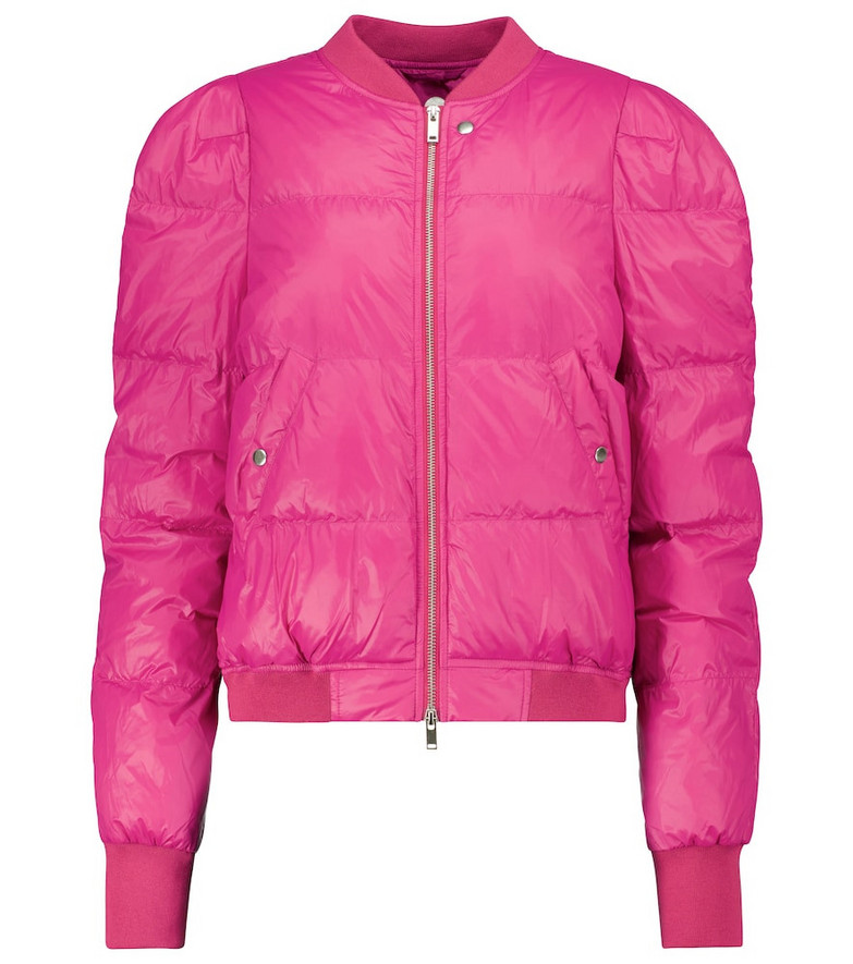 Isabel Marant, Étoile Cody puffer jacket in pink