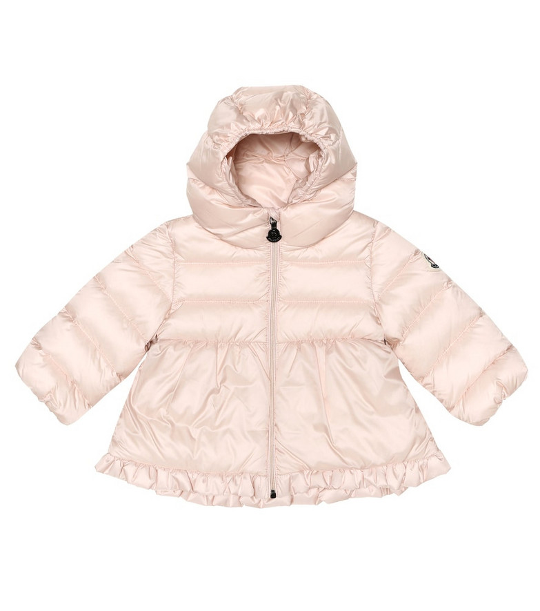 Moncler Enfant Baby Odile quilted down jacket in pink