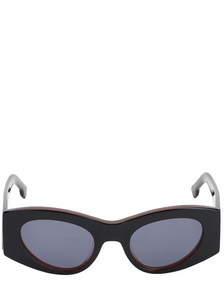 LE SPECS Extempore Acetate Sunglasses in black