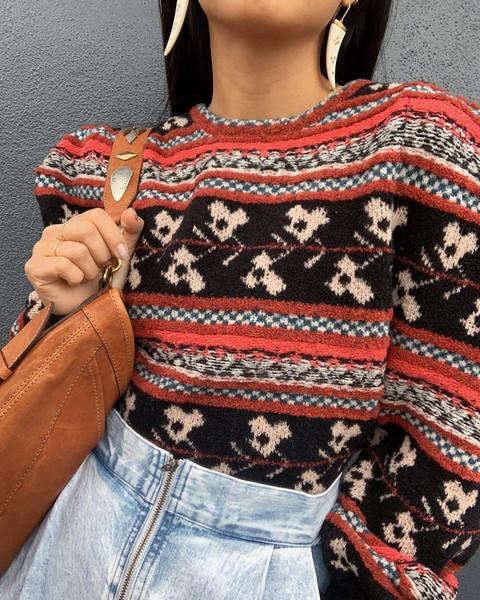 pants sweater jewels bag