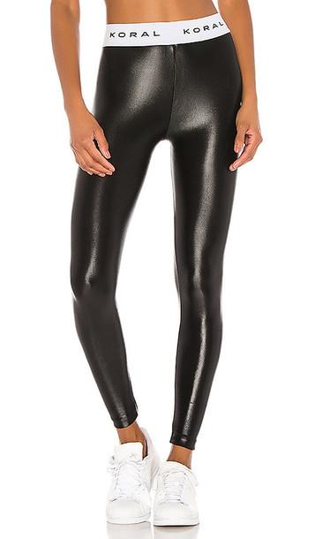 KORAL Aden Infinity Legging in Black