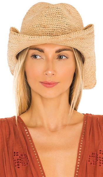 florabella Tanya Hat in Tan in natural