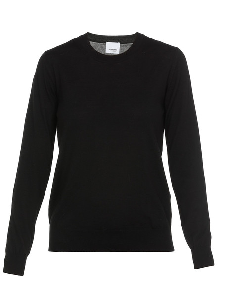 Burberry Bempton Sweater in black