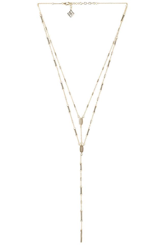Kendra Scott Adelia Necklace in gold / metallic