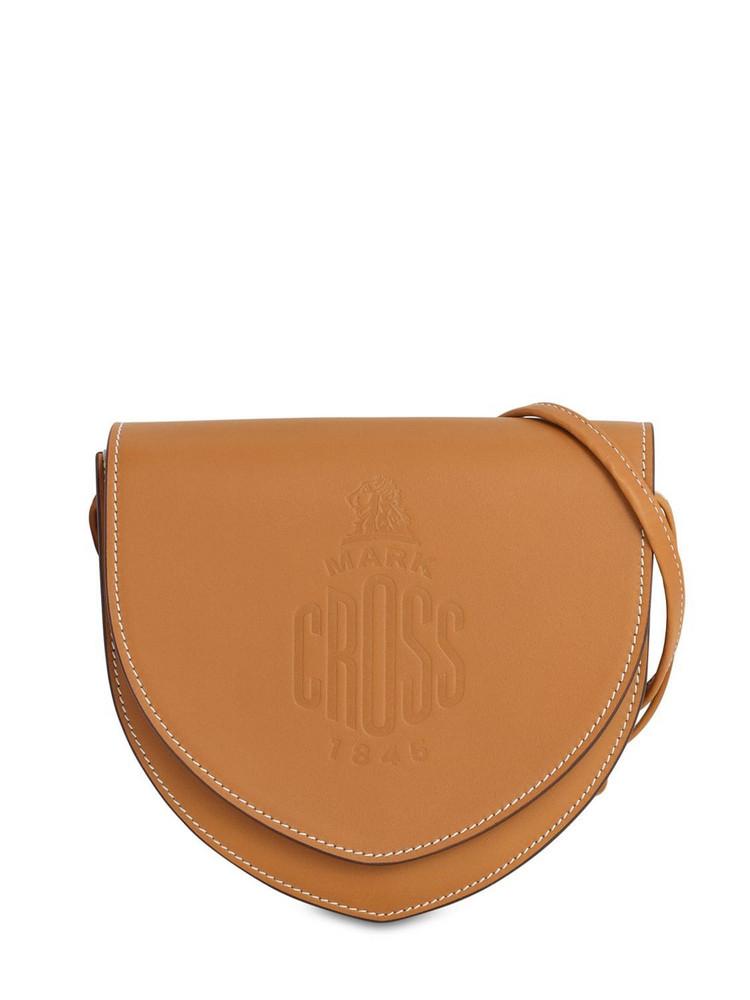 MARK CROSS Dunes Leather Shoulder Bag