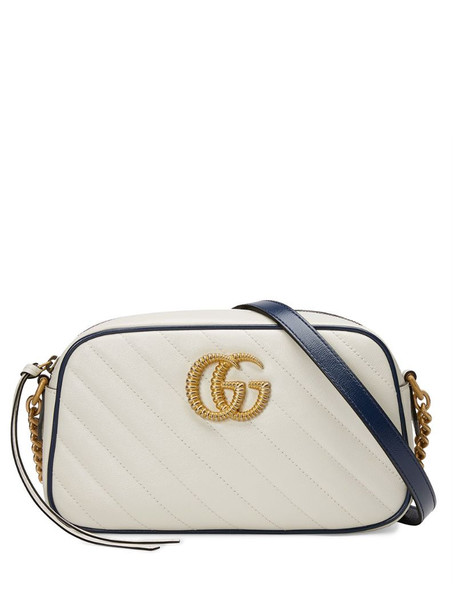 Gucci small Marmont shoulder bag in white