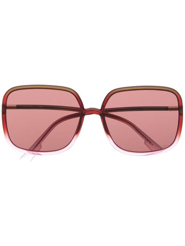 Dior Eyewear oversized square sunglasses in pink
