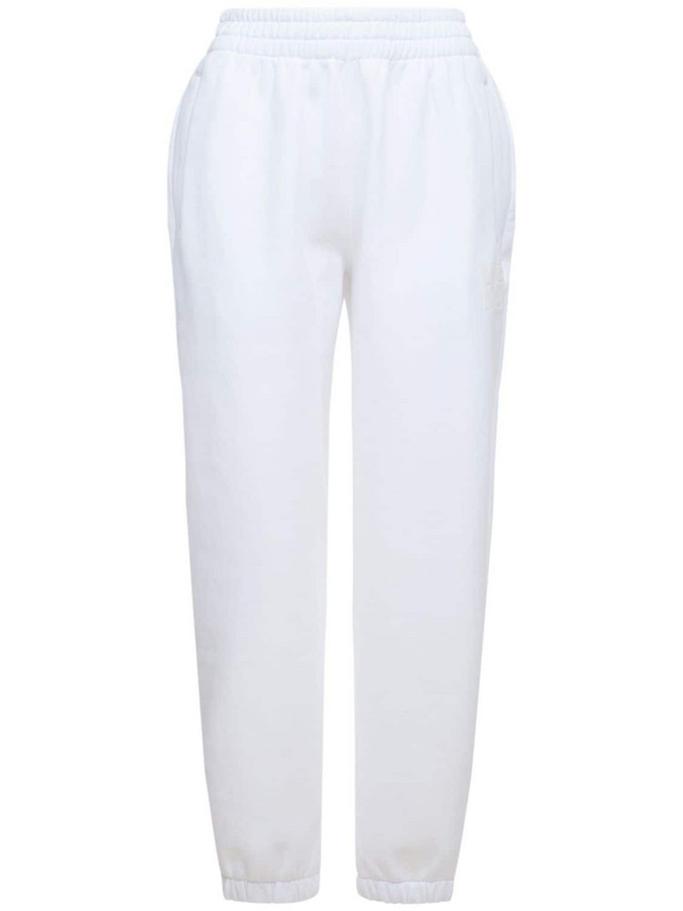 ALEXANDER WANG Foundation Terry Sweatpants in white