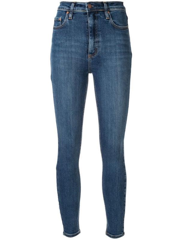 Nobody Denim Siren Skinny Ankle Prime jeans in blue