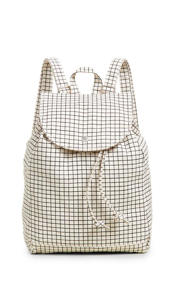 BAGGU Drawstring Backpack in natural