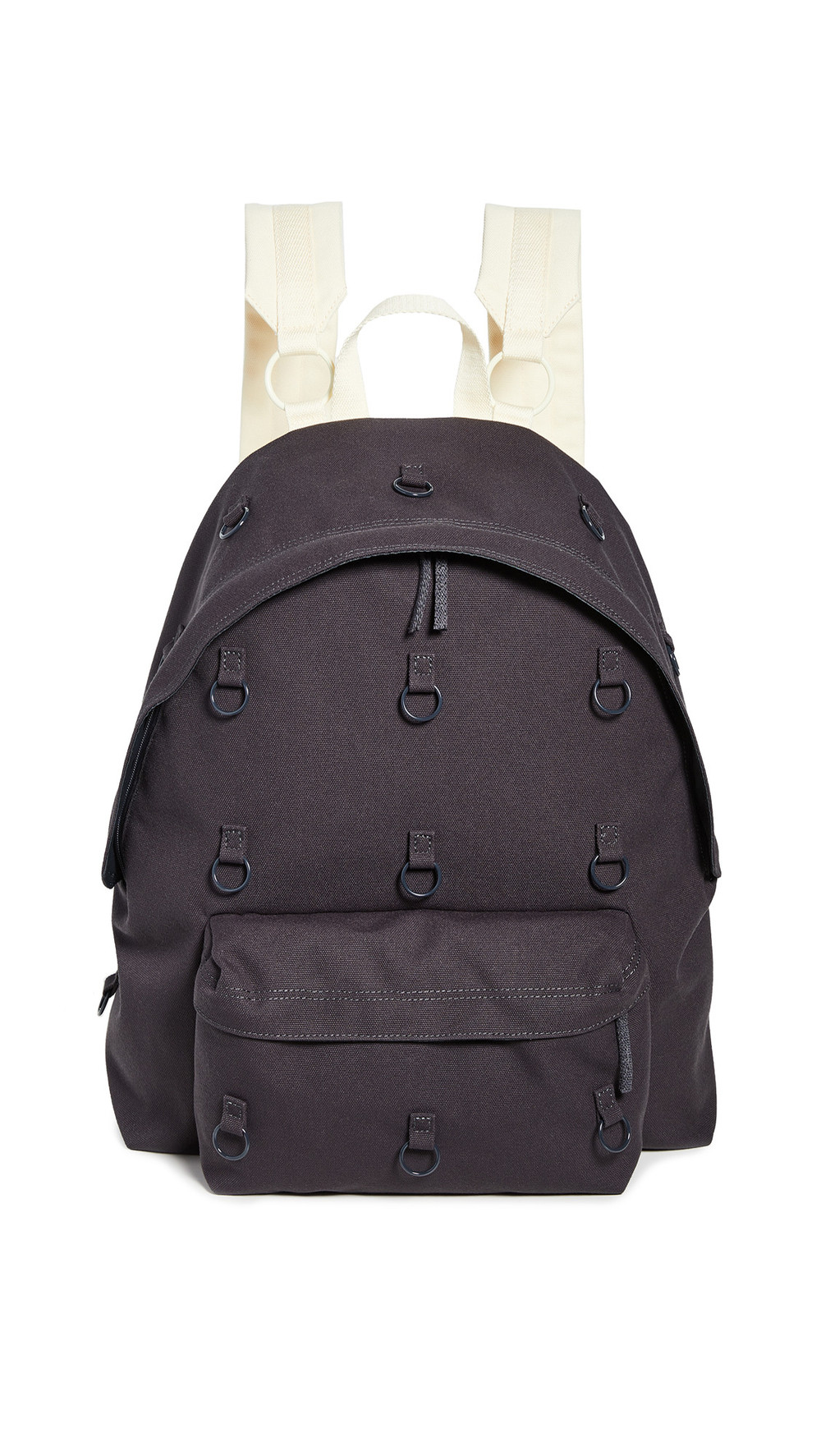Eastpak RS Padded Loop Backpack in anthracite / yellow