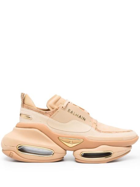 Balmain B-Bold low-top sneakers - Neutrals