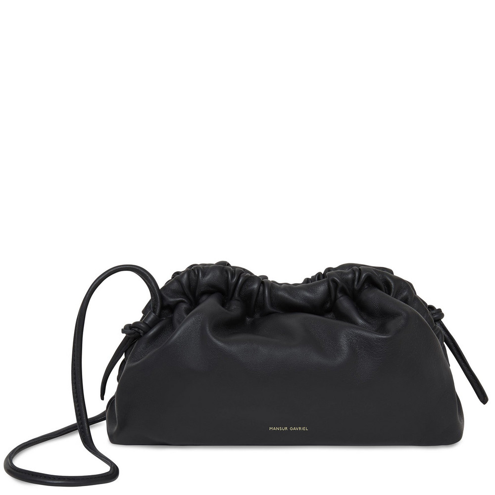 Mansur Gavriel Mini Cloud Clutch - Apple Blossom