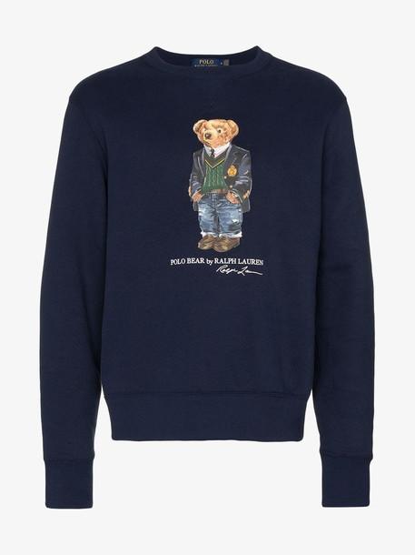 Polo Ralph Lauren Teddy print sweatshirt