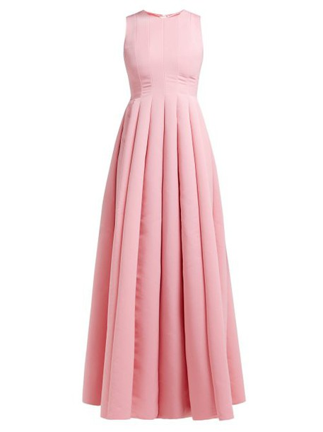 Maison Rabih Kayrouz - Panelled Faille Gown - Womens - Pink