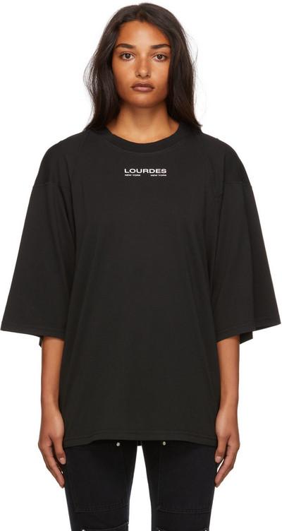 Lourdes Graphic T-Shirt in black