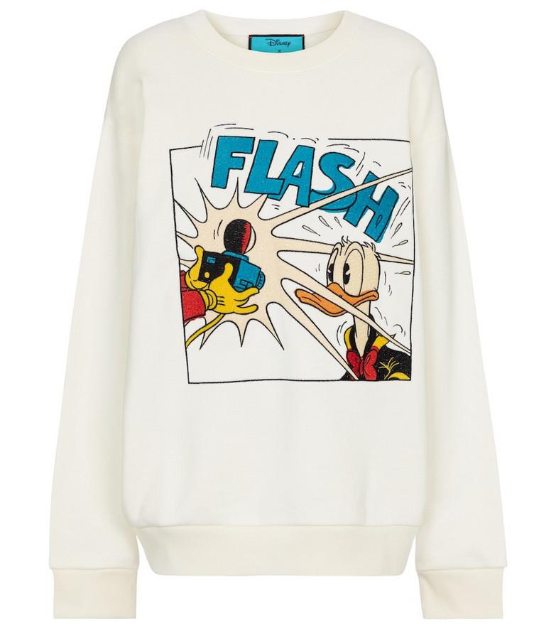 Gucci x Disney® cotton jersey sweatshirt in white