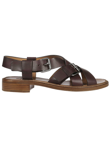 Church's Strappy Buckled Sandals in brown