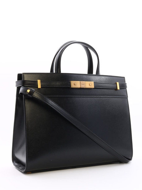 Saint Laurent Tote Bag Manhattan Black