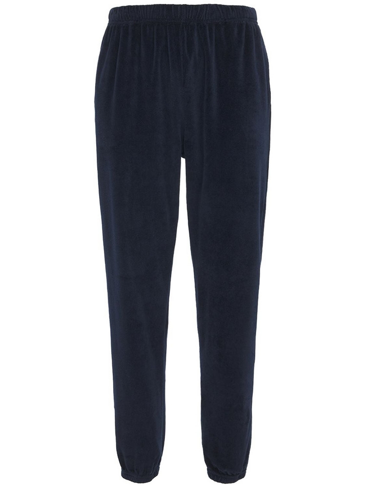 LES TIEN Classic Sweatpants in blue