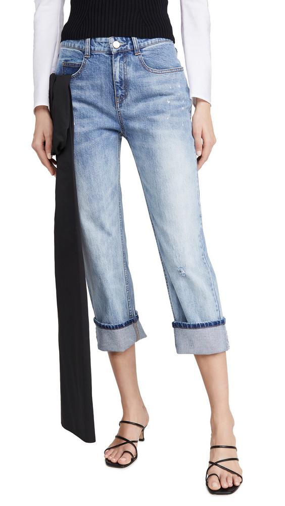 Hellessy Gresham Jeans with Sash in black