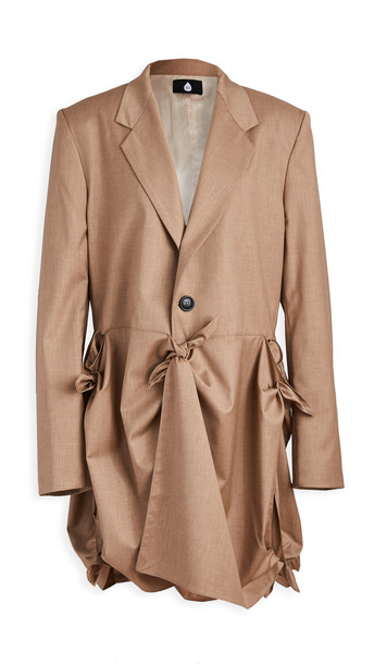 Natasha Zinko Buttoned Jacket in beige