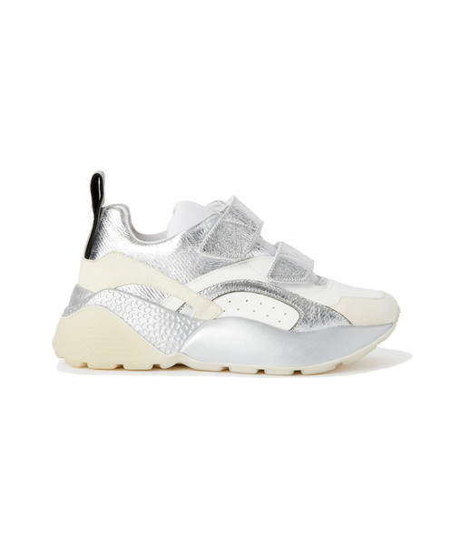 Stella McCartney Eclypse Sneakers Velcro in silver / white / multi