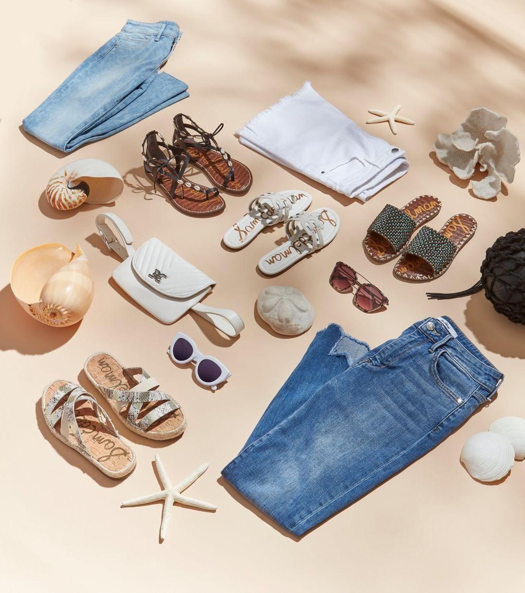shoes sunglasses