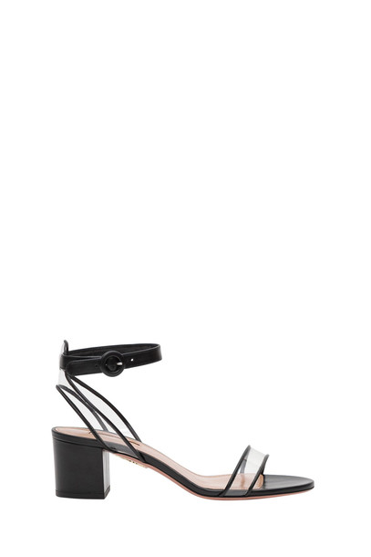Aquazzura Minimalist 50 Sandals in nero