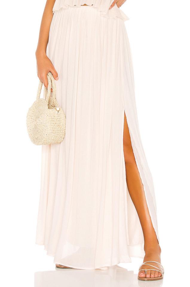 Indah Andi Maxi Skirt in cream