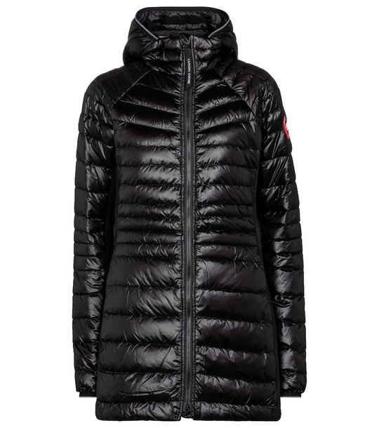 Canada Goose HyBridge Lite down coat in black