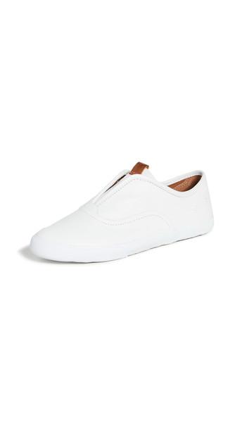 Frye Maya CVO Slip On Sneakers in white