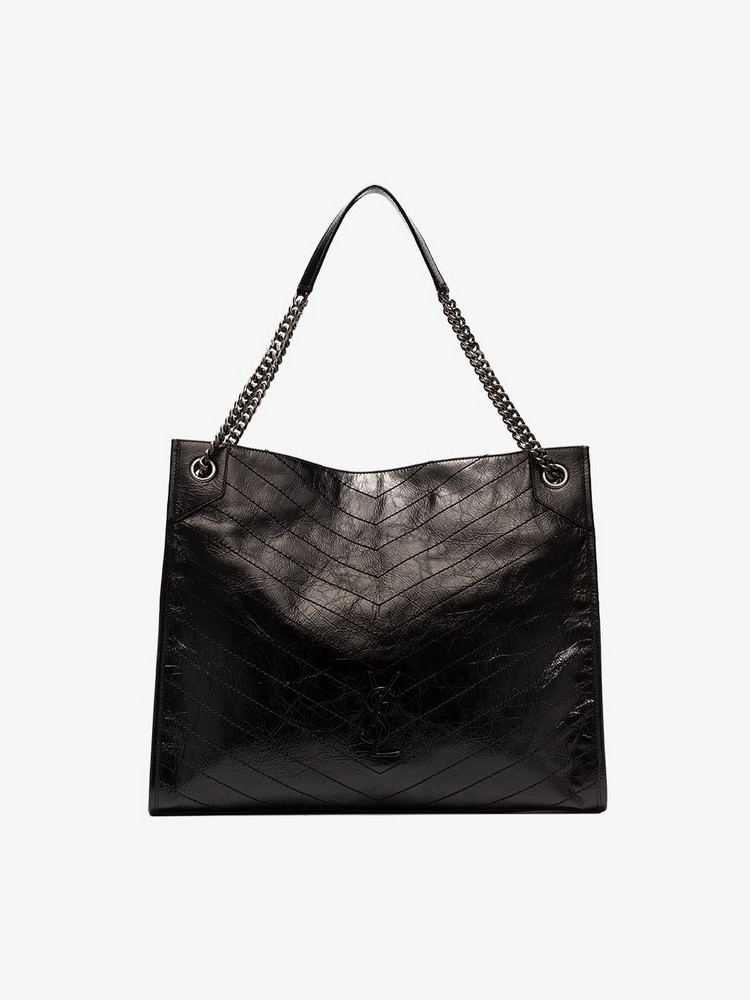 Saint Laurent SLP NIKI SHOPPER TOTE in black