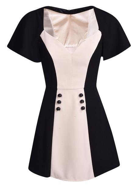 Elisabetta Franchi Celyn B. Elisabetta Franchi Celyn B. Bicolor Mini Dress