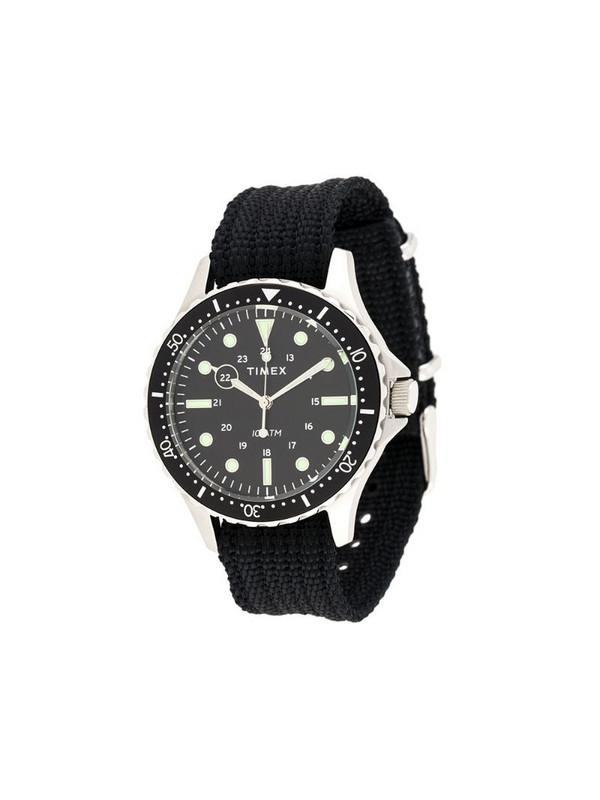 TIMEX Navi XL 41mm watch in black