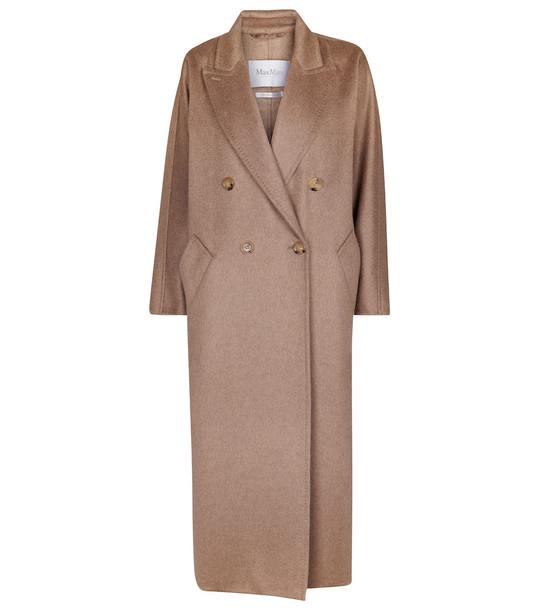 Max Mara Selina cashmere coat in beige