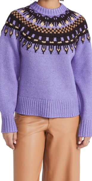 A.L.C. A.L.C. Oakley Sweater in multi