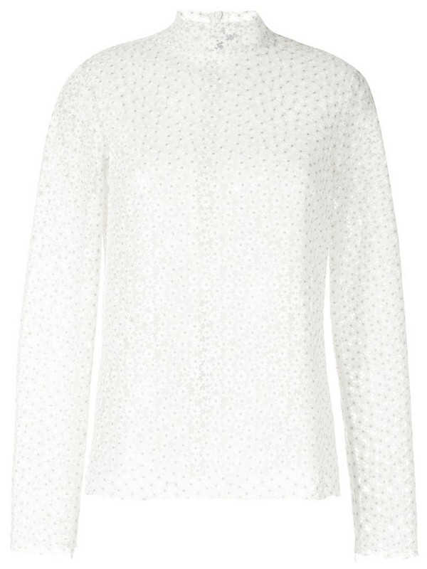 Macgraw embroidered Majestic blouse in white