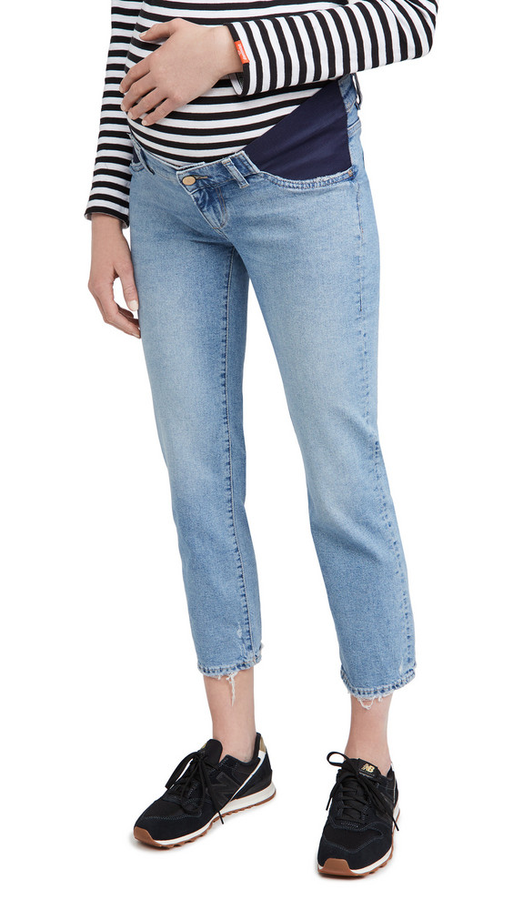 DL DL1961 Patti Straight Maternity High Rise Jeans