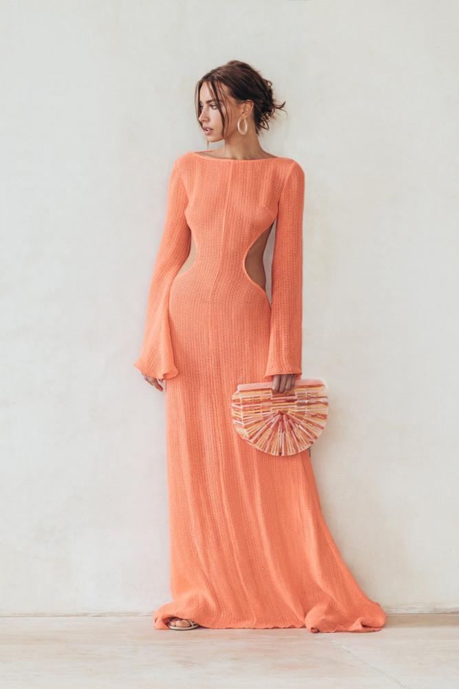 Cult Gaia Kamira Dress - Melon                                                                                               $898.00 USD