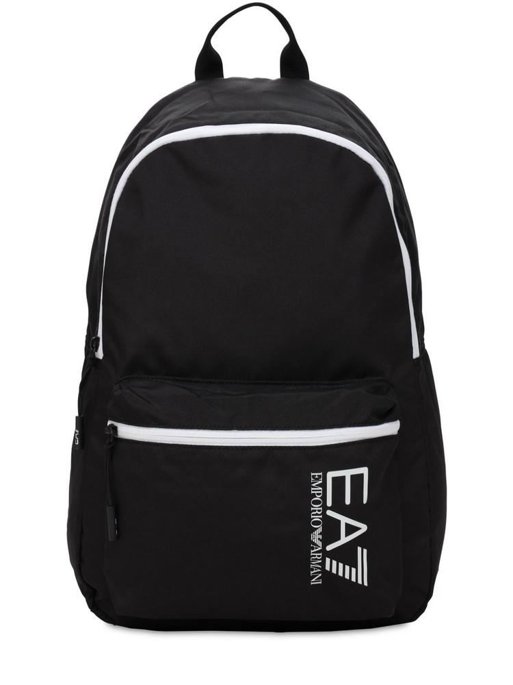EA7 EMPORIO ARMANI 20l Train Core Backpack in black / white