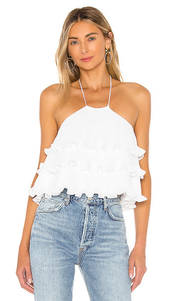 Lovers + Friends Lovers + Friends Freesia Top in White