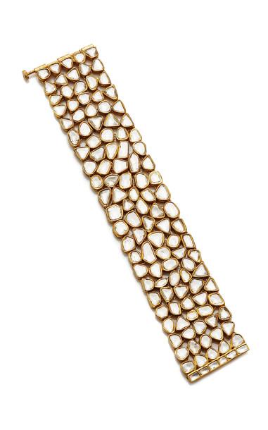 Sanjay Kasliwal Raj 22k Gold and Diamond Bracelet