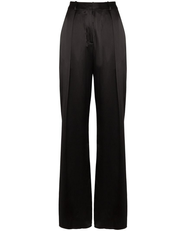 Michael Lo Sordo relaxed suit trousers in black