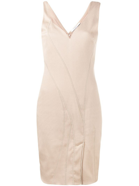 Givenchy sleeveless asymmetrical dress in pink