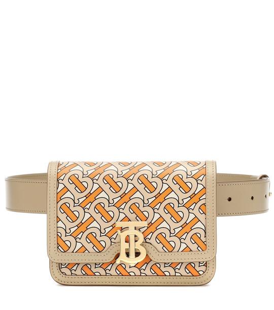 Burberry TB leather belt bag