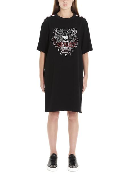 Kenzo tiger Dress in black