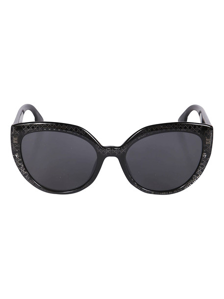 Christian Dior Cat Eye Sunglasses in black