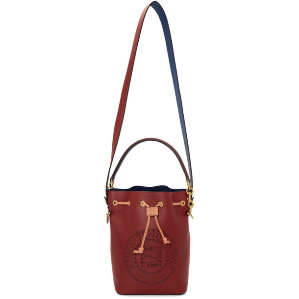 Fendi Red Forever Fendi Mon Tresor Bag